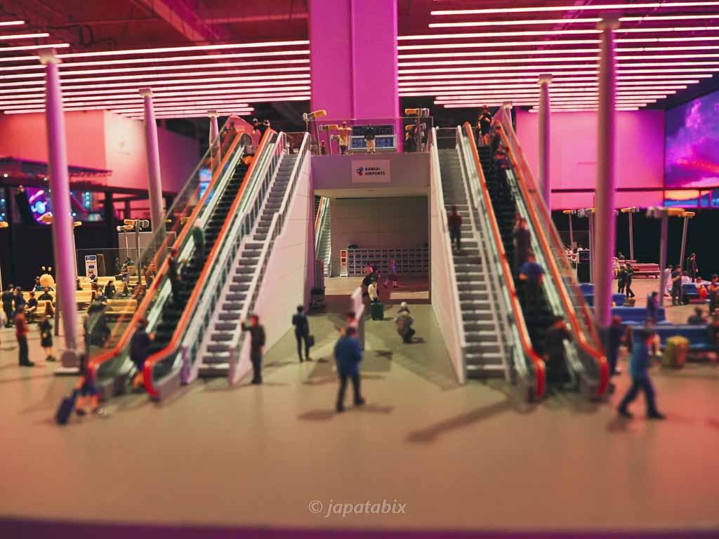 スモールワールズ東京 関西国際空港