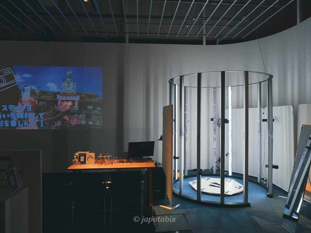 スモールワールズ東京 3Dスキャナー