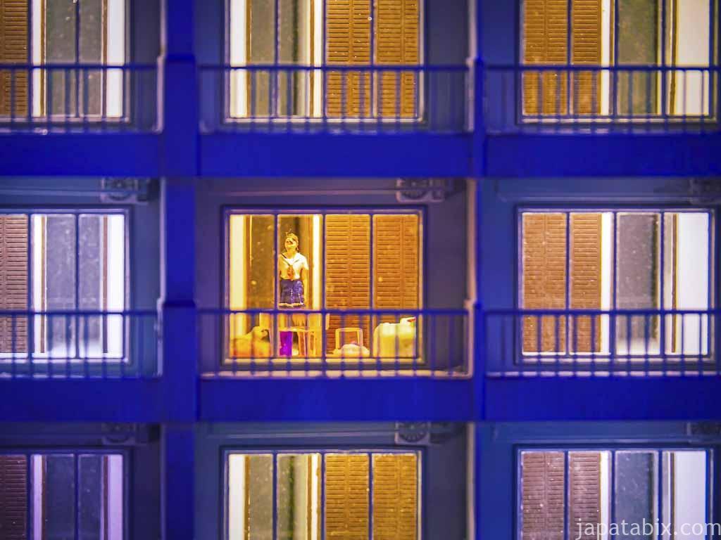 スモールワールズTOKYO 第3新東京市 マンションの一室