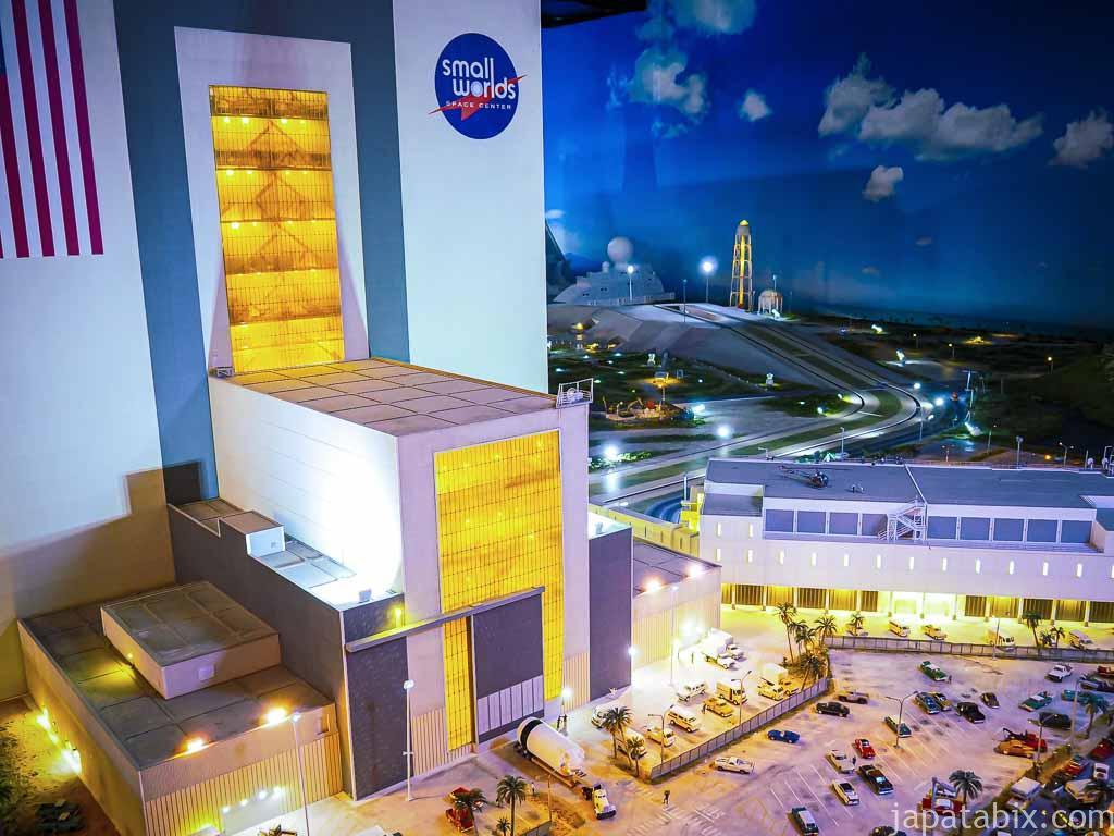 スモールワールズTOKYO 宇宙センター