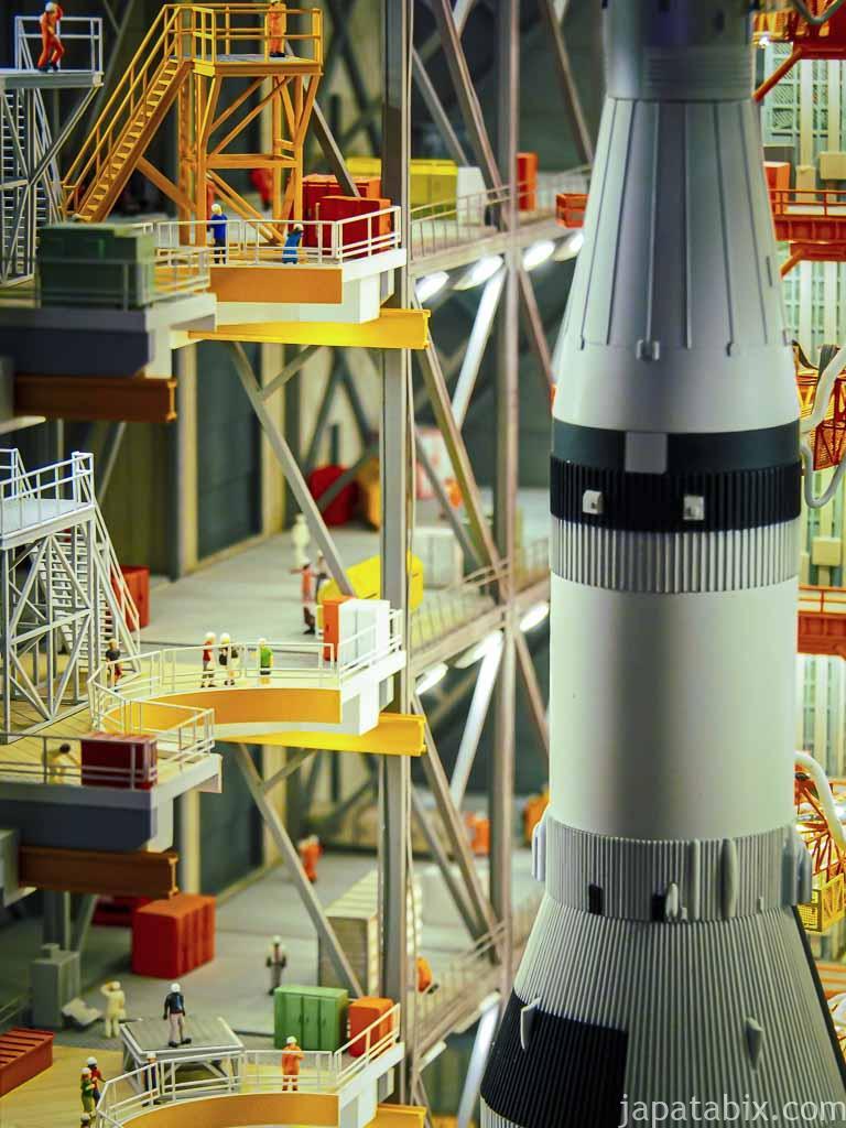 スモールワールズTOKYO 宇宙センター 格納庫