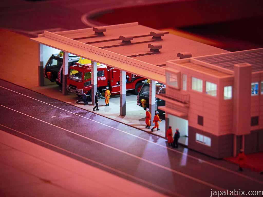 スモールワールズTOKYO 関西国際空港 滑走路の消防施設