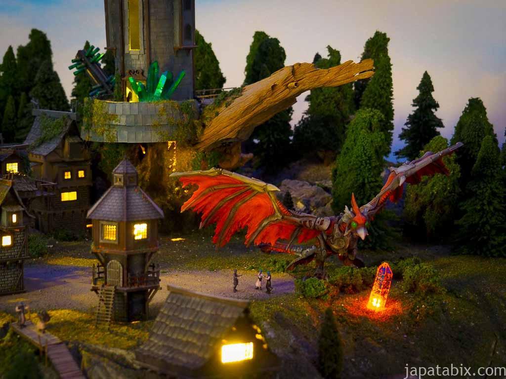 スモールワールズTOKYO 世界の街のドラゴン