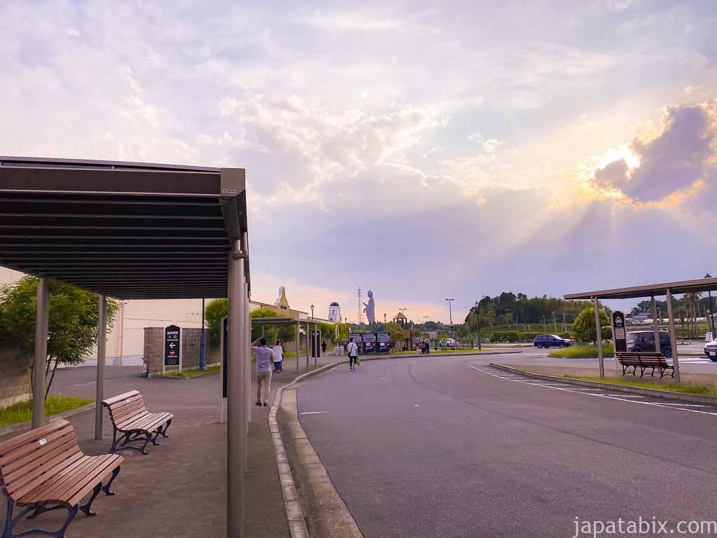 あみプレミアム・アウトレット バス乗り場