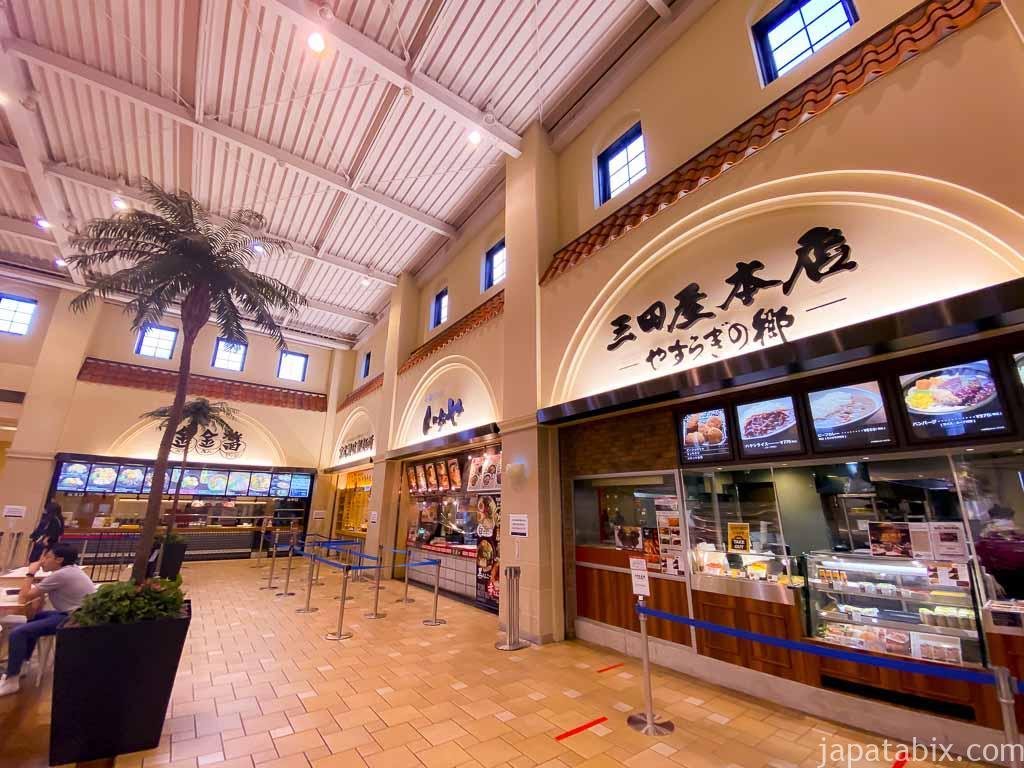 あみプレミアムアウトレット フードコート 飲食店