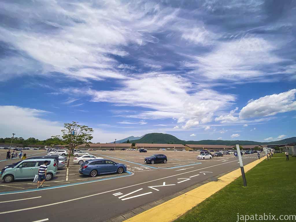 軽井沢プリンスショッピングプラザ 駐車場P3