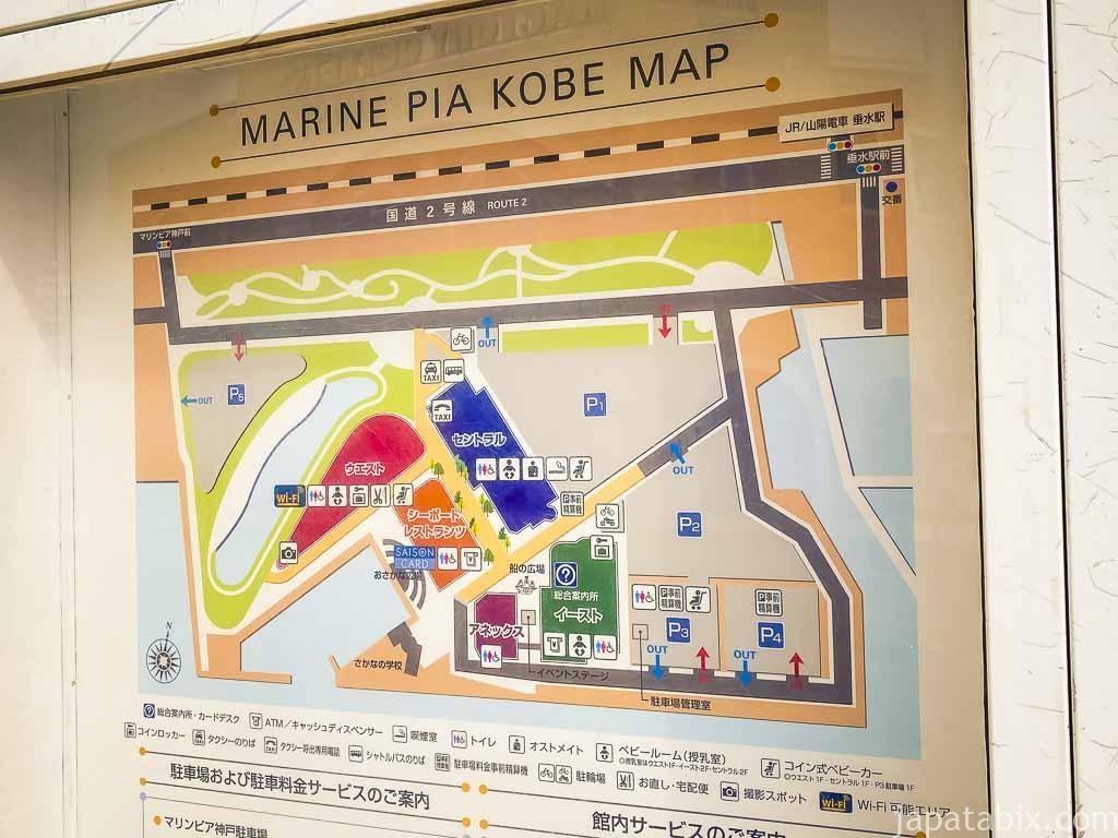 三井アウトレットパーク マリンピア神戸 駐車場
