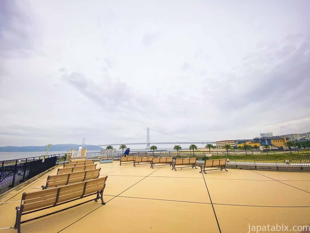 三井アウトレットパーク マリンピア神戸 ファクトリーアウトレッツ ウエスト 展望デッキ