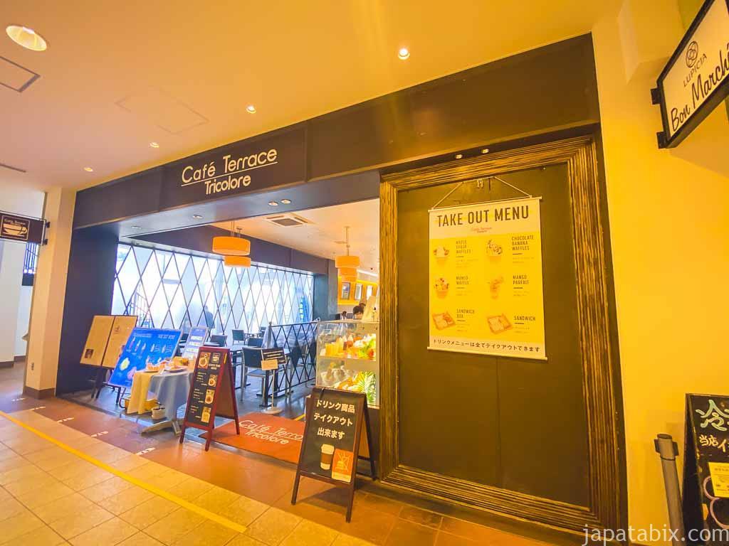 三井アウトレットパーク マリンピア神戸 ファクトリーアウトレッツ セントラル カフェテラストリコロール