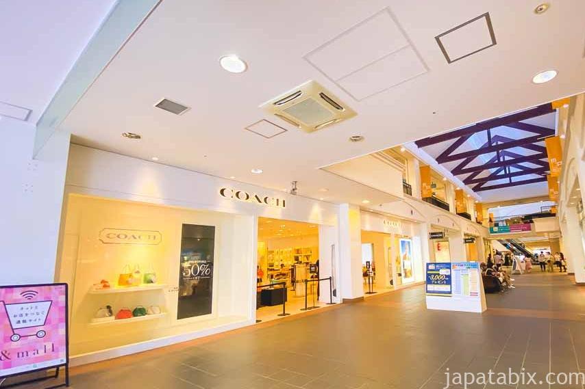 三井アウトレットパーク マリンピア神戸 ファクトリーアウトレッツ セントラル COACH