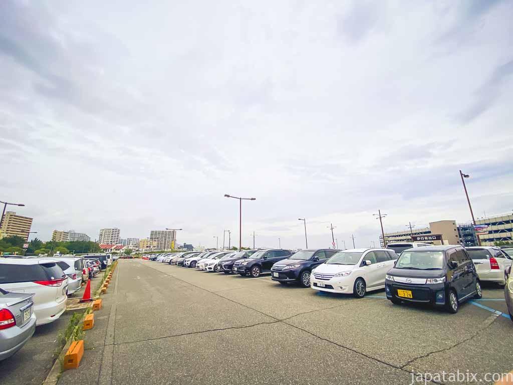 三井アウトレットパーク マリンピア神戸 駐車場 P1