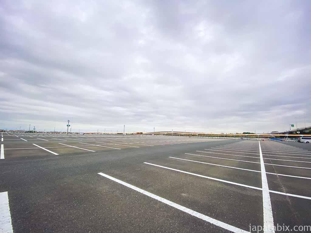 三井アウトレットパーク ジャズドリーム長島 駐車場