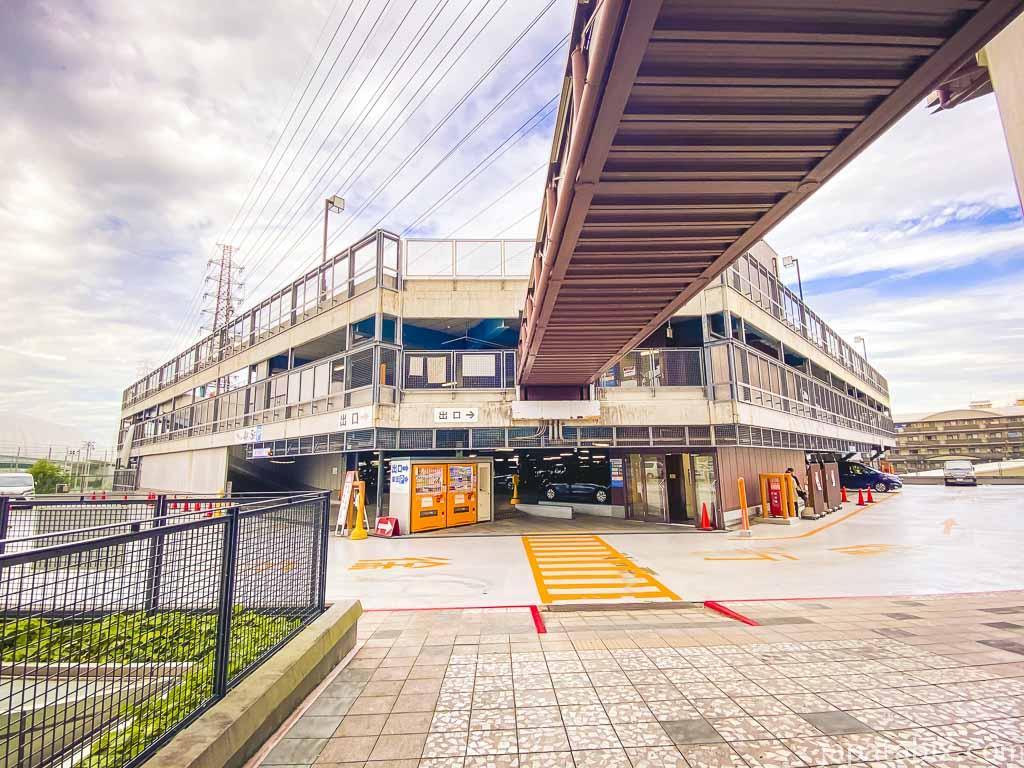 三井アウトレットパーク大阪鶴見 駐車場