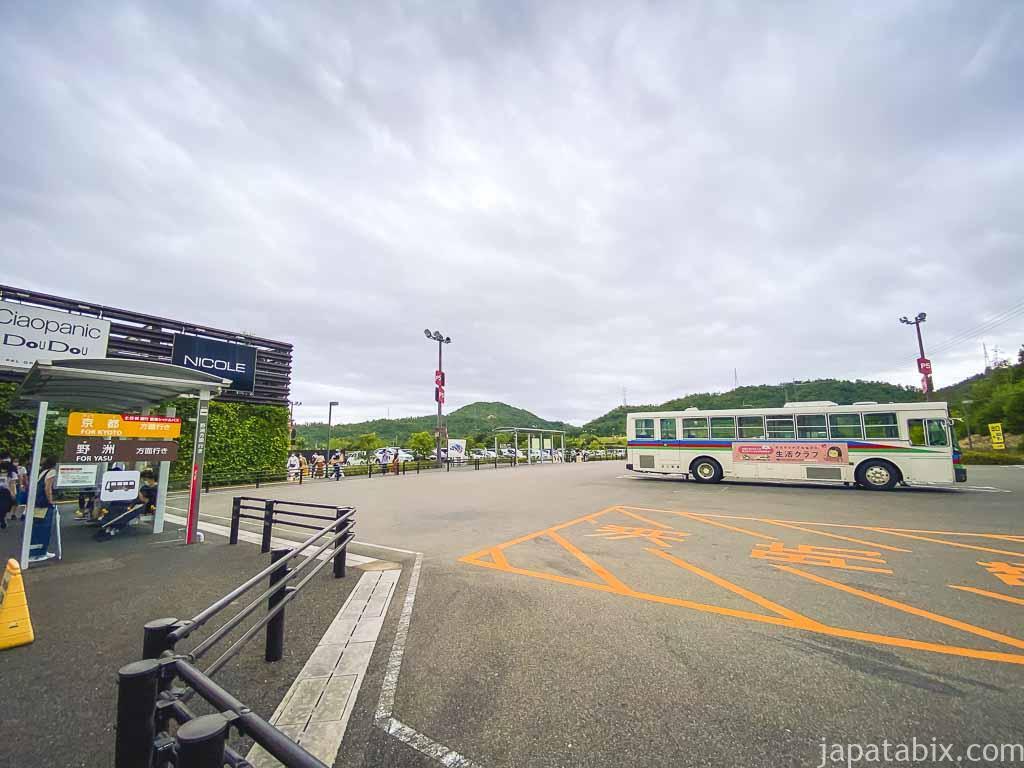 三井アウトレットパーク 滋賀竜王 バス乗り場