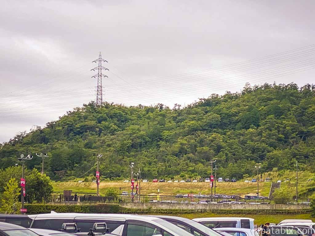 三井アウトレットパーク滋賀竜王 駐車場 P6,P7