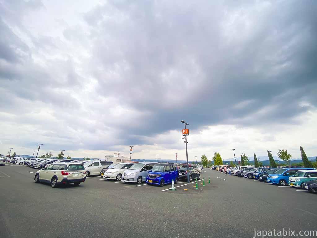 土岐プレミアム・アウトレット 駐車場P1