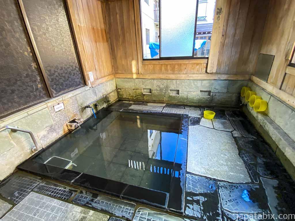 野沢温泉 外湯③ 松葉の湯(まつばのゆ)