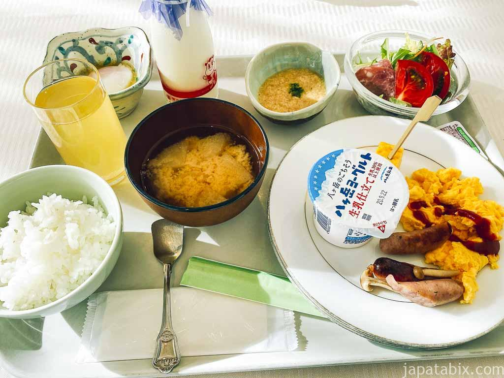 野沢グランドホテル 朝食ビュッフェ