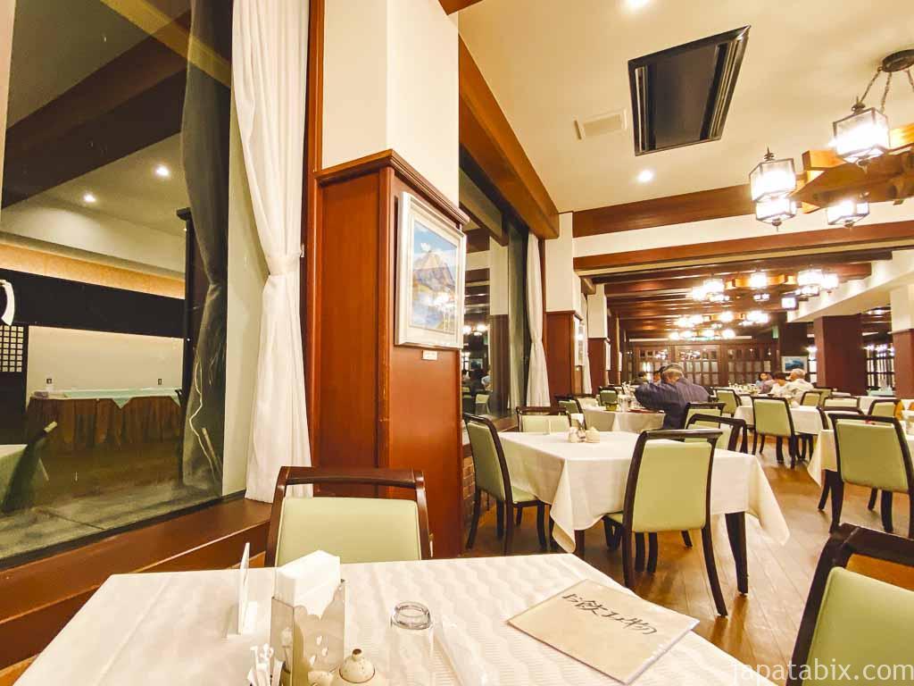 野沢温泉 野沢グランドホテル 1階食堂