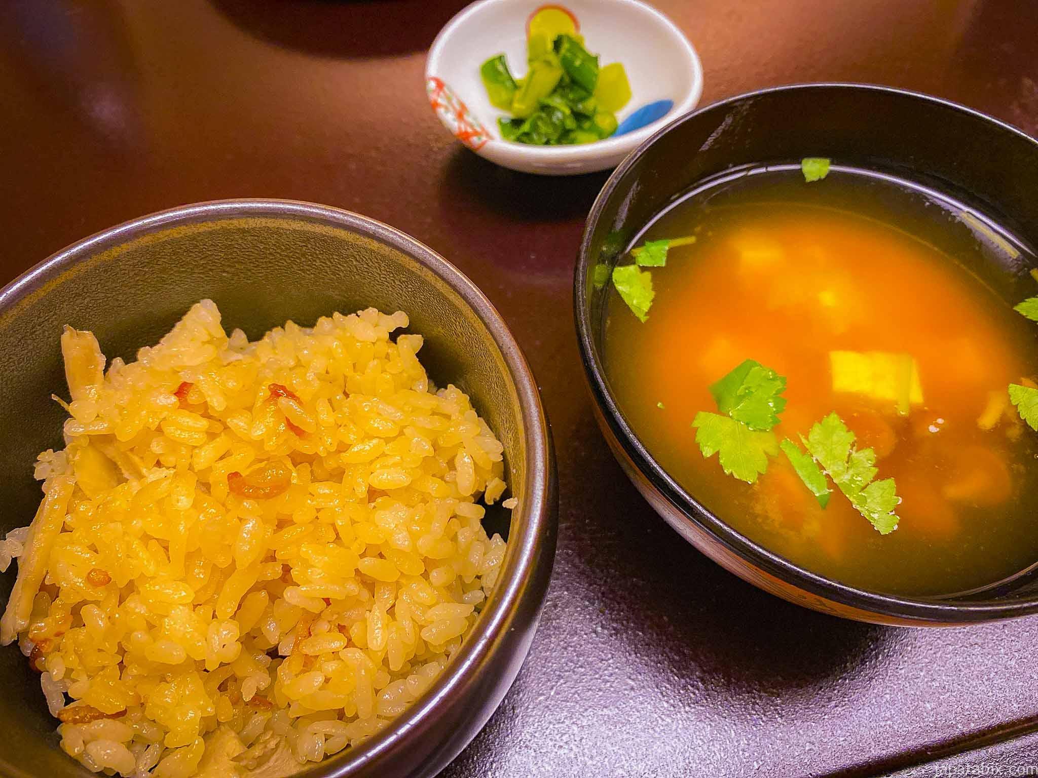 渋温泉 一乃湯果亭の夕食
