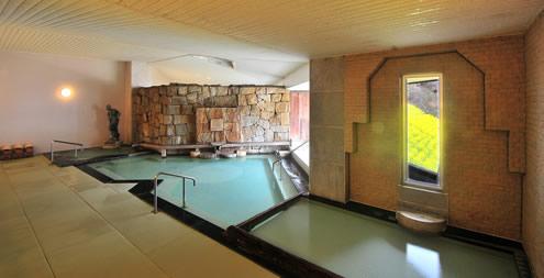 野沢グランドホテル 展望大浴場 滝の湯