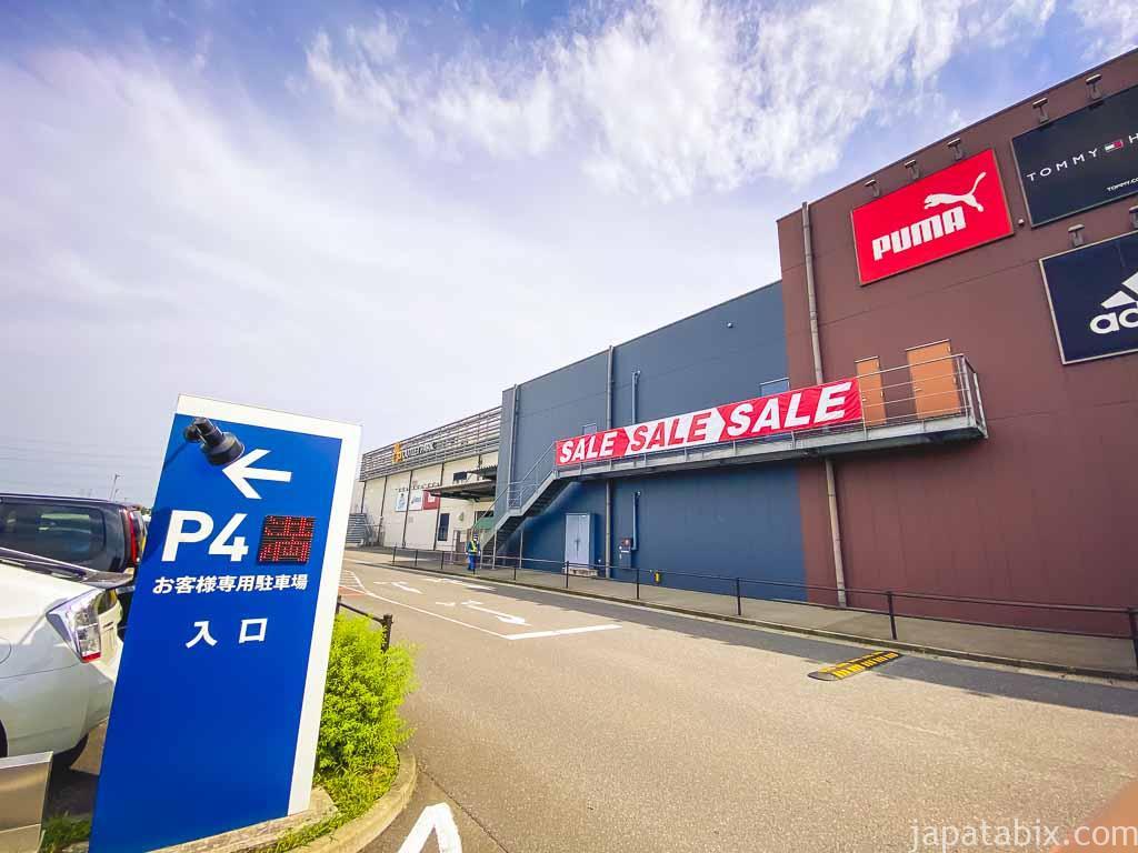 三井アウトレットパーク 仙台港 駐車場P4