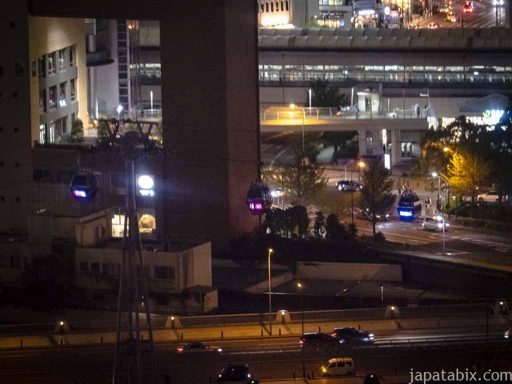 コスモクロック21から見たヨコハマエアキャビン
