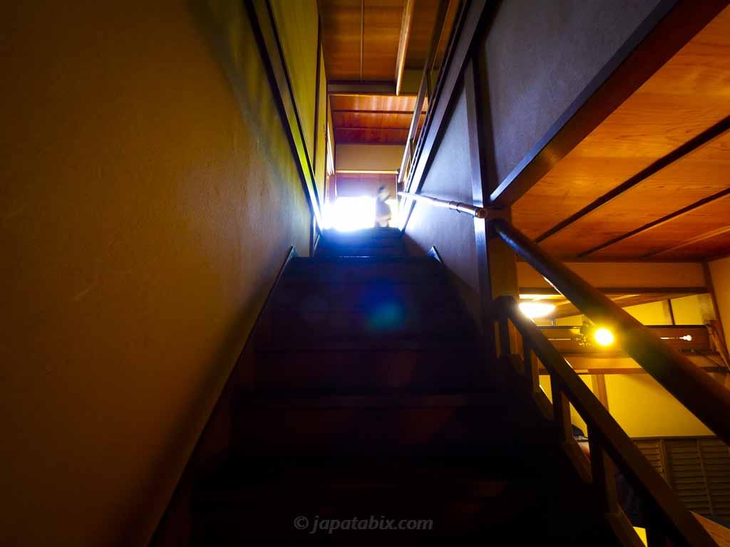 瑠璃光院 書院2階へ