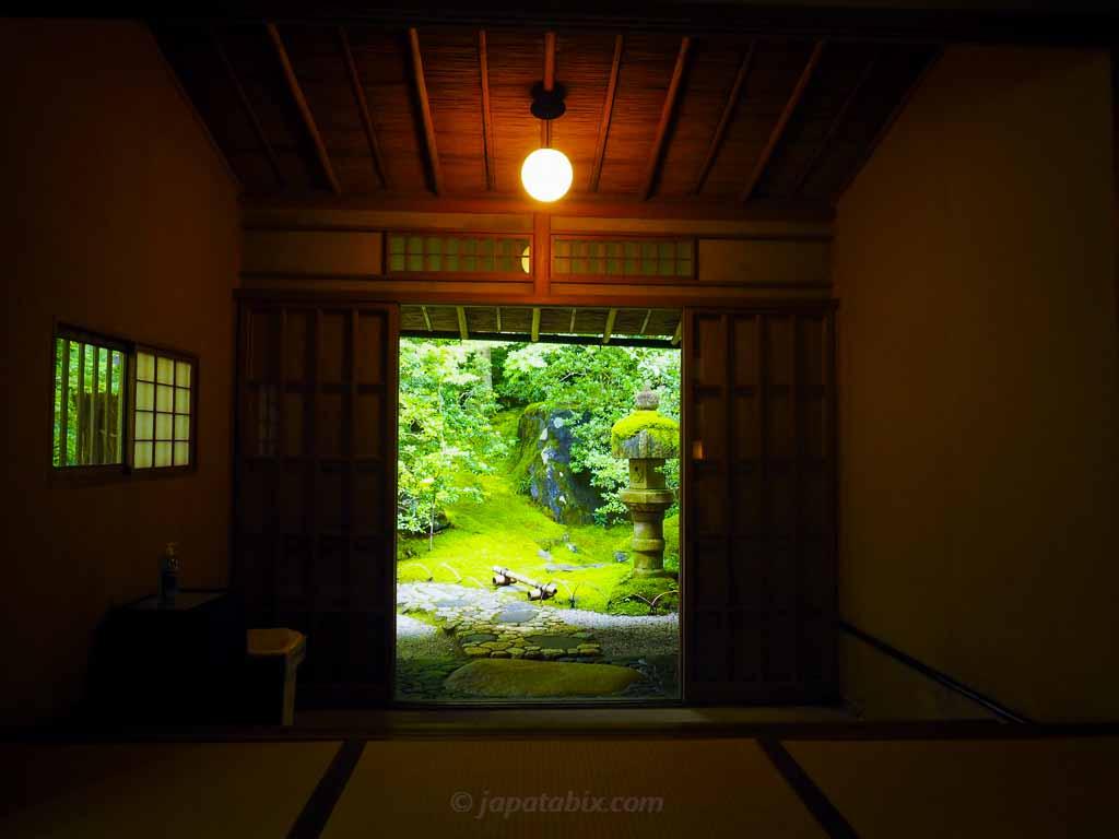 瑠璃光院 玄関
