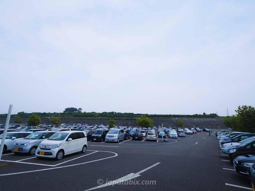 ソレイユの丘 駐車場