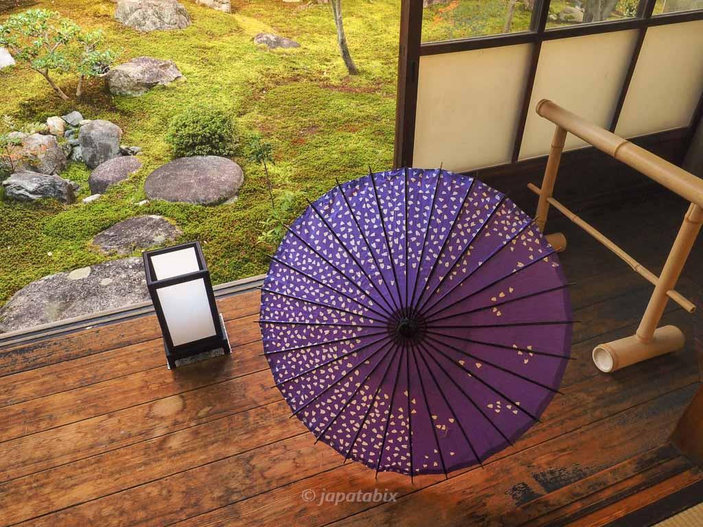 京都 勝林寺 和傘