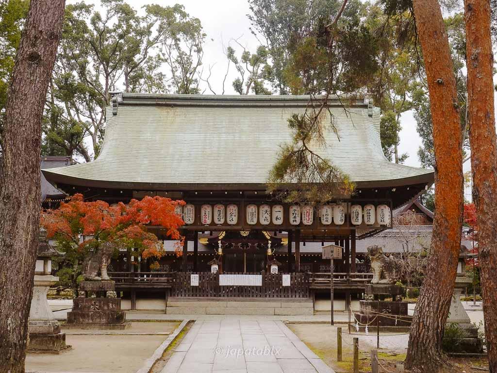 京都 今宮神社 拝殿