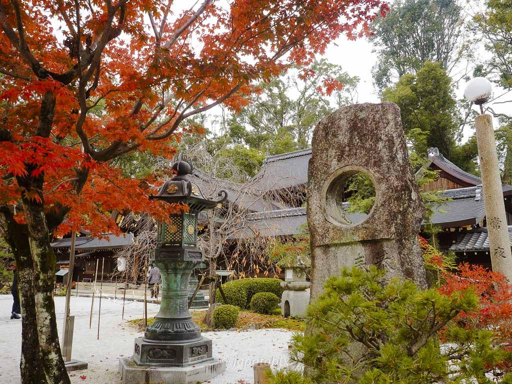 京都 今宮神社 境内の紅葉
