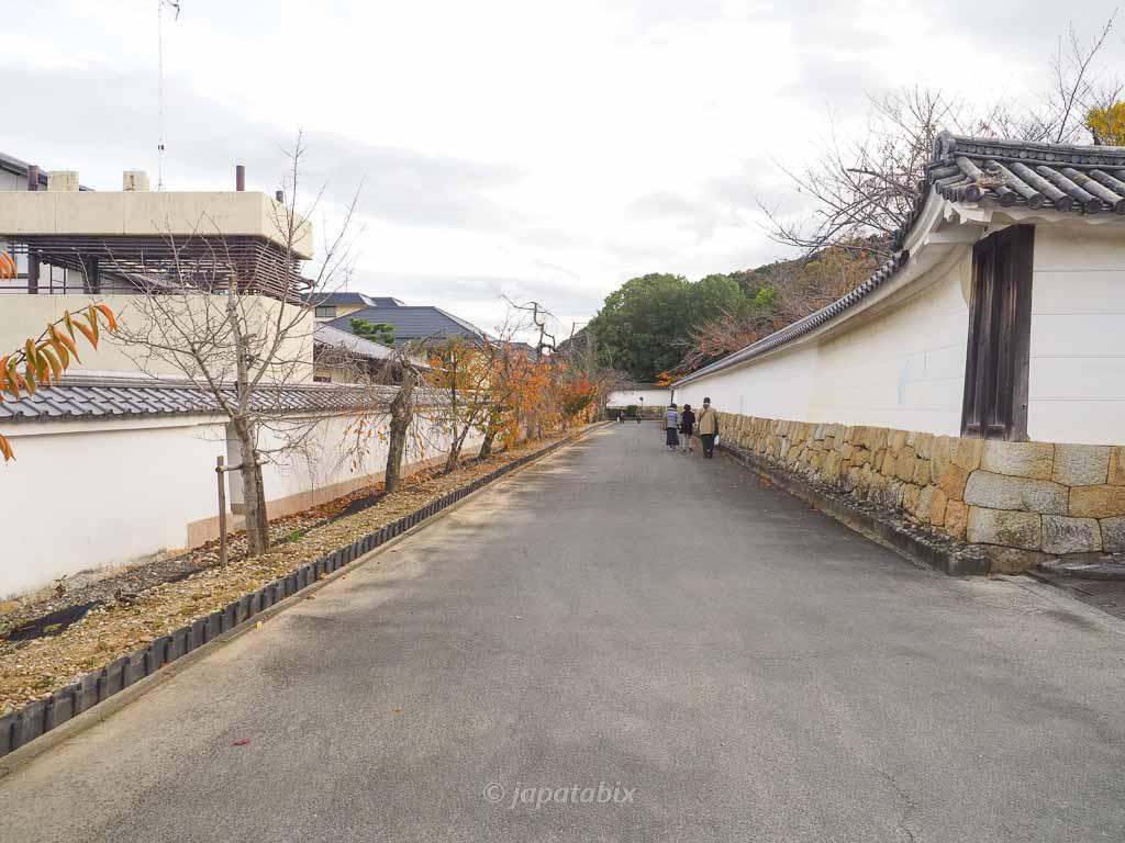 京都 勧修寺 参道