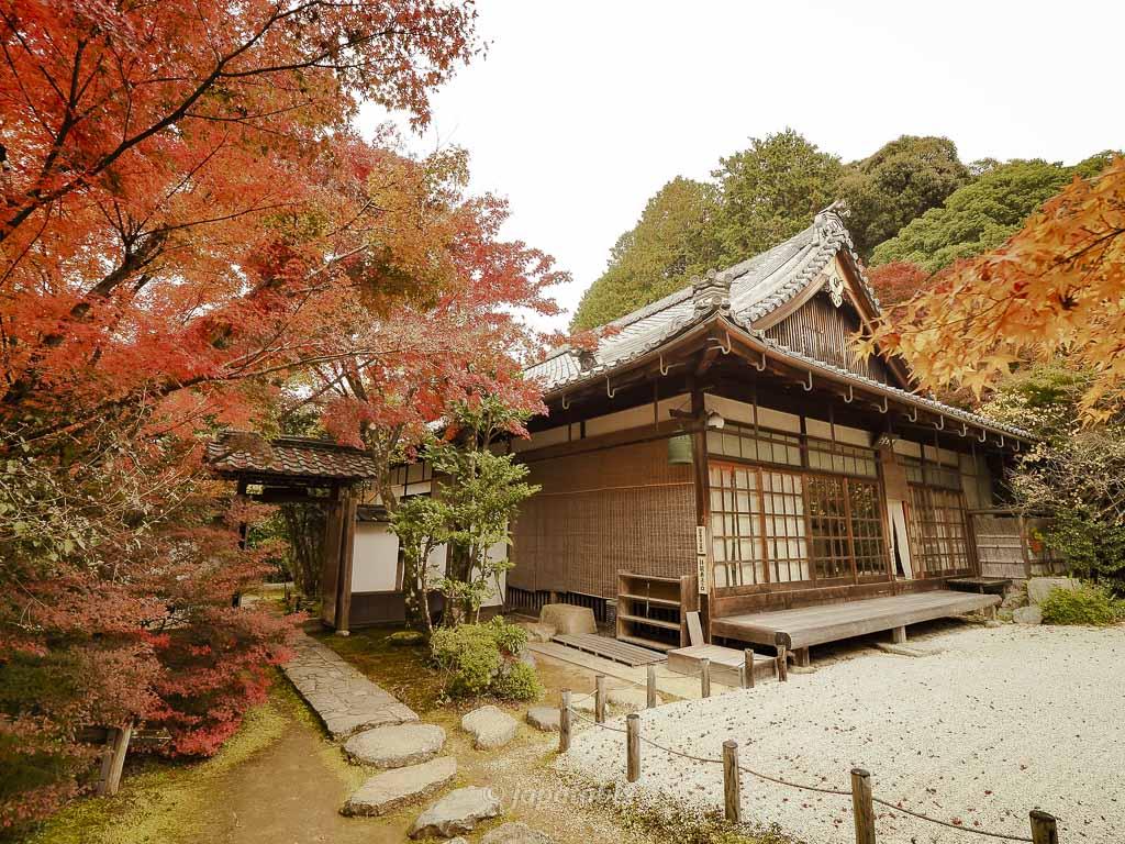 京都 金福寺の枯山水庭園