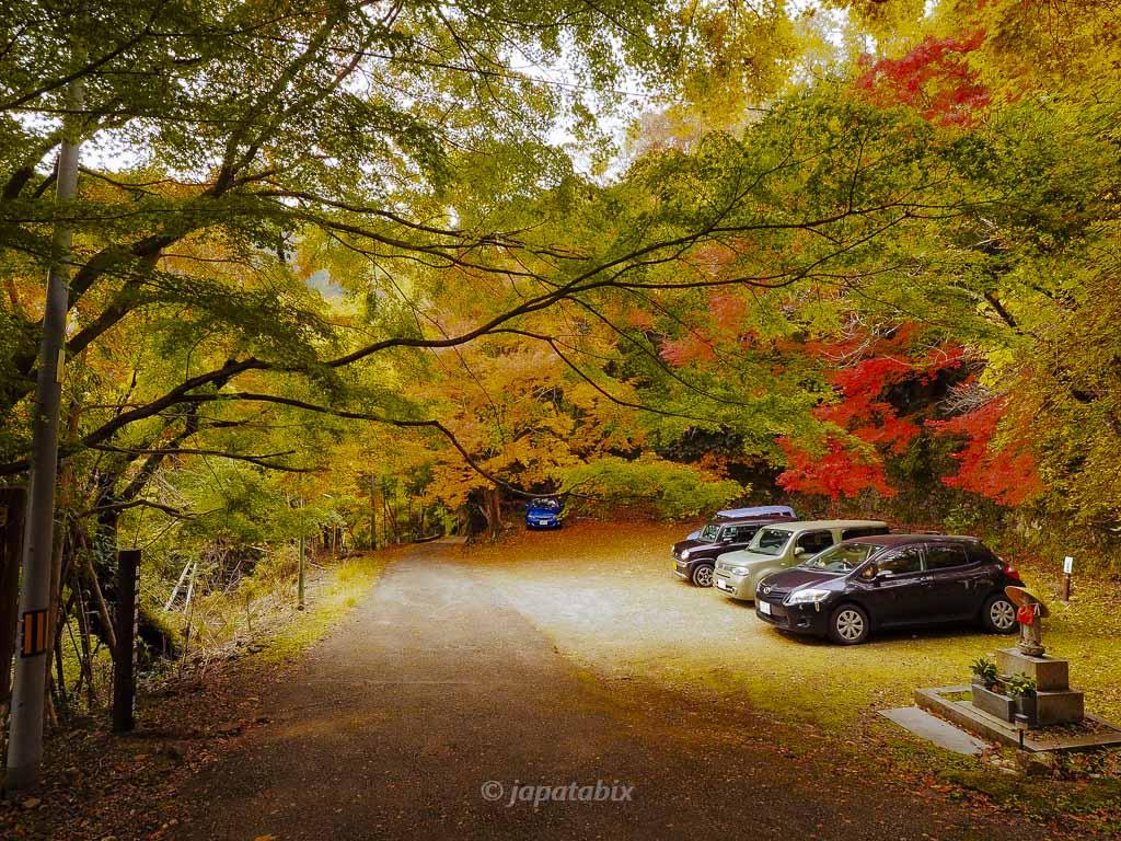 京都 金蔵寺 駐車場