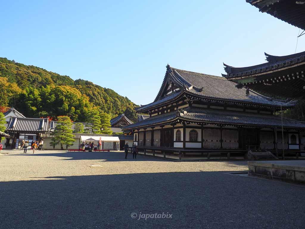御寺泉涌寺 舎利殿と仏殿