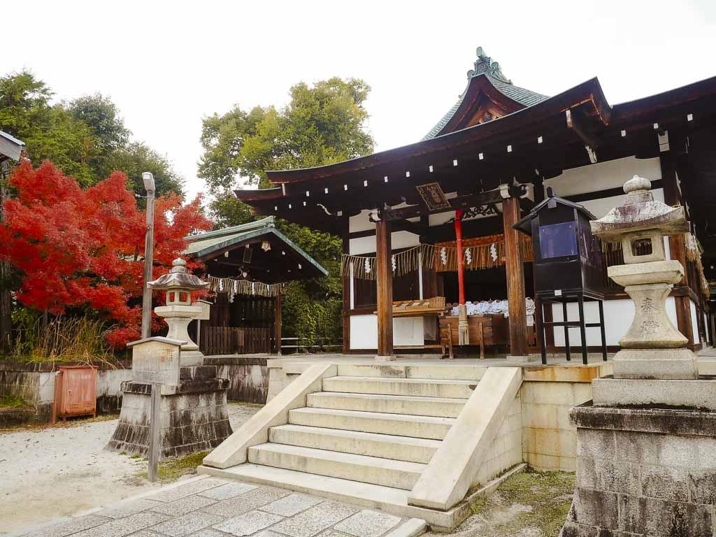 京都 敷地神社(わら天神宮) 本殿