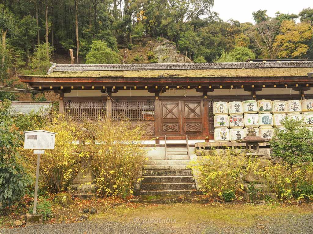 京都 松尾大社の中門