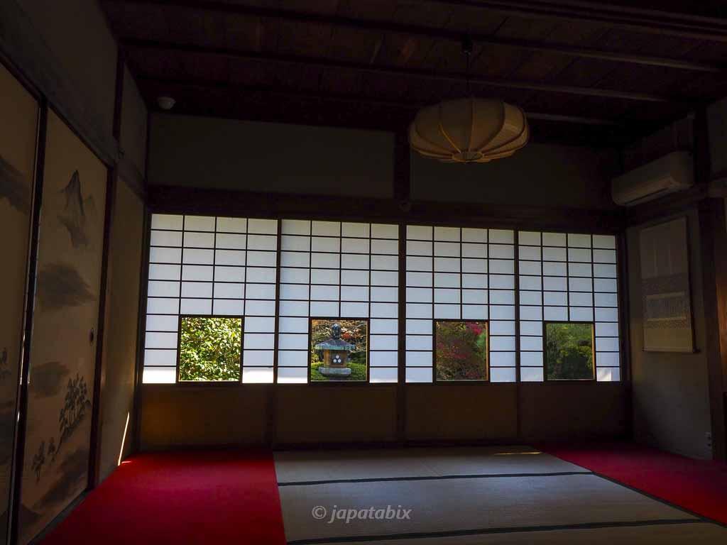 京都 雲龍院 しき紙の景色