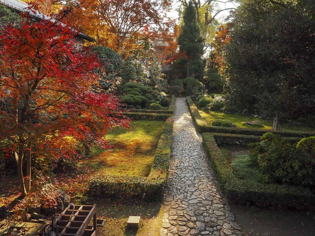京都 安楽寺 境内の様子